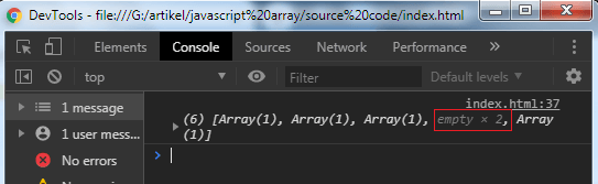 Javascript Array Manipulation - Example 4