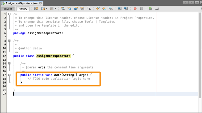 Java Tutorial: Basic Operators Examples - Netbeans Java Application