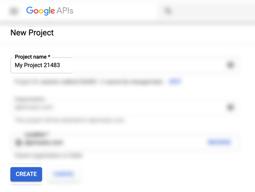 View Google Maps in HTML Page - New Project Page