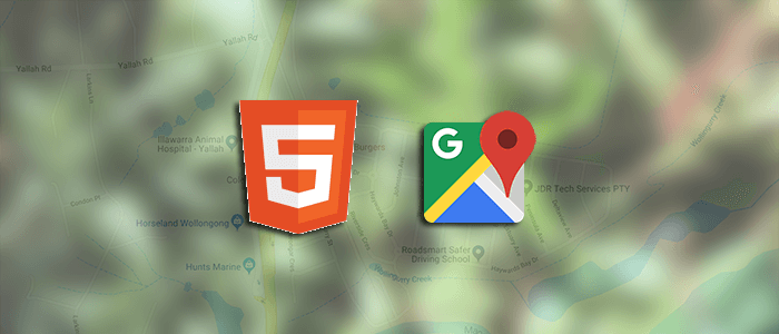 View Google Maps in HTML Page