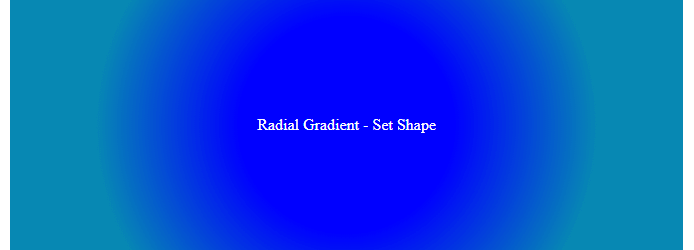 CSS3 Tutorial: Gradients Color - Example 6