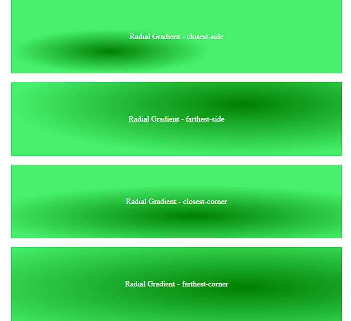 CSS3 Tutorial: Gradients Color - Example 7