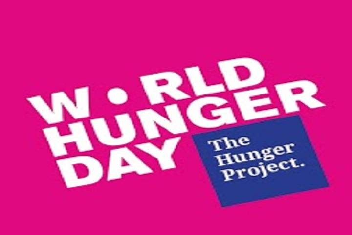 world hunger day observed on 28