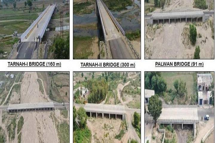 six strategic bridges e-inaugurated
