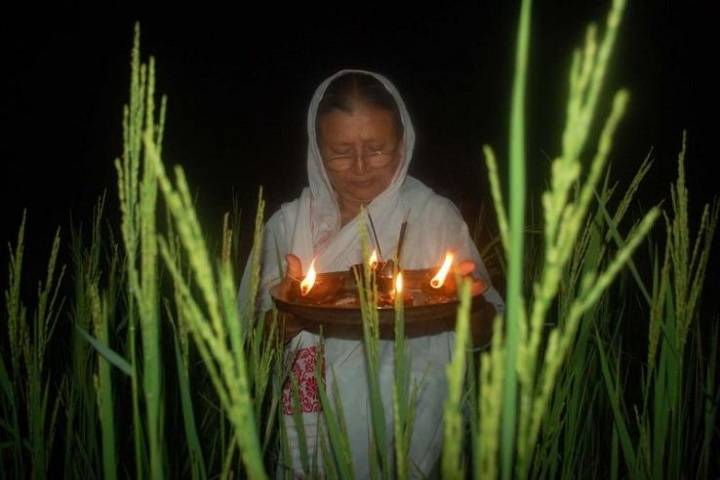 kati bihu festival celebrated across
