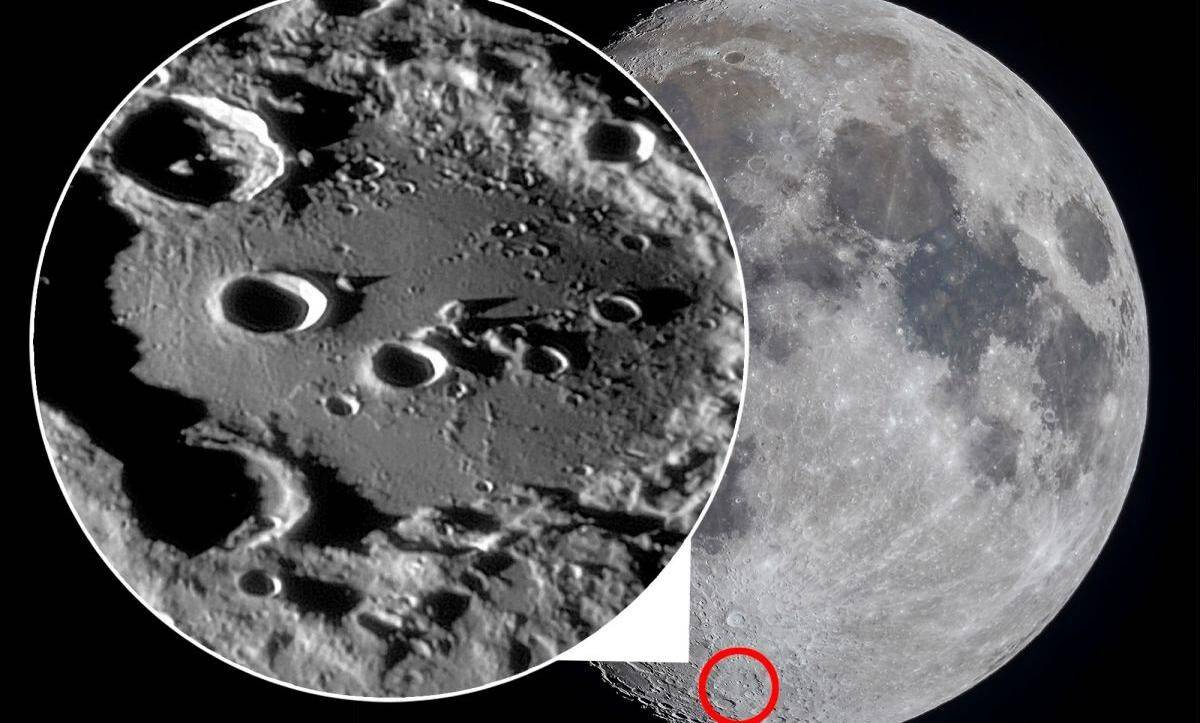 discovery of water on moon's