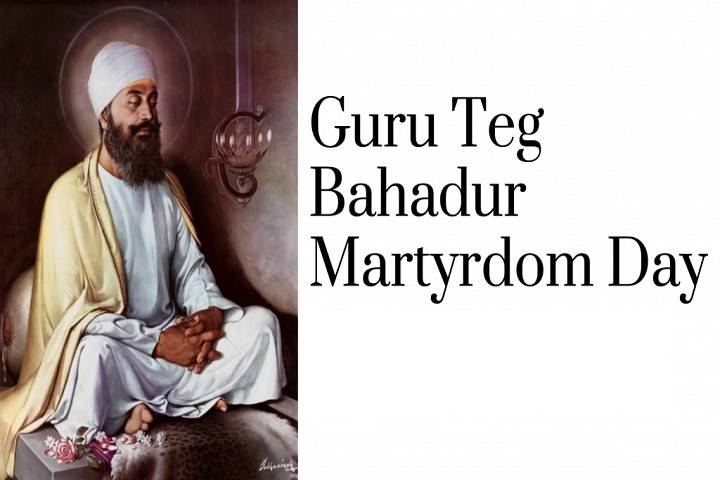 martyrdom day of ninth sikh guru-guru