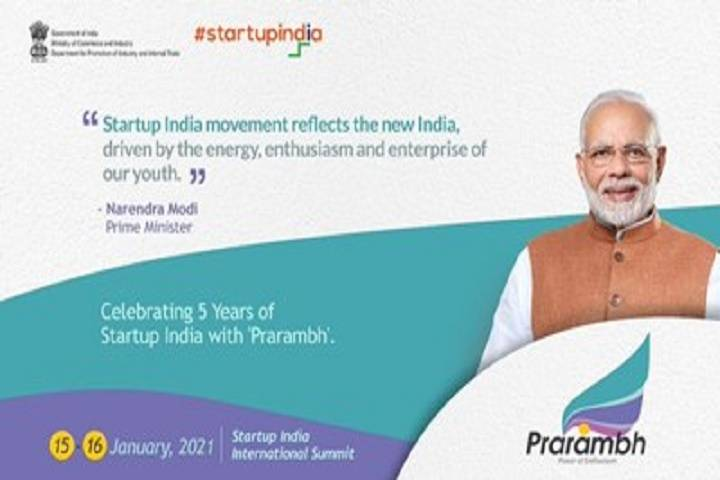 prarambh' – startup india international