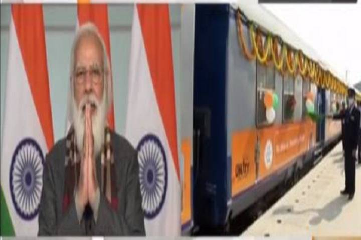 prime minister modi flags off 8