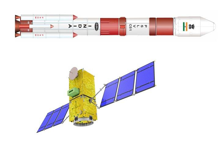 isro successfully launches brazil's