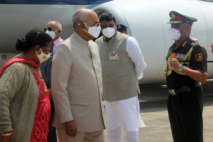 shri ram nath kovind visited ins