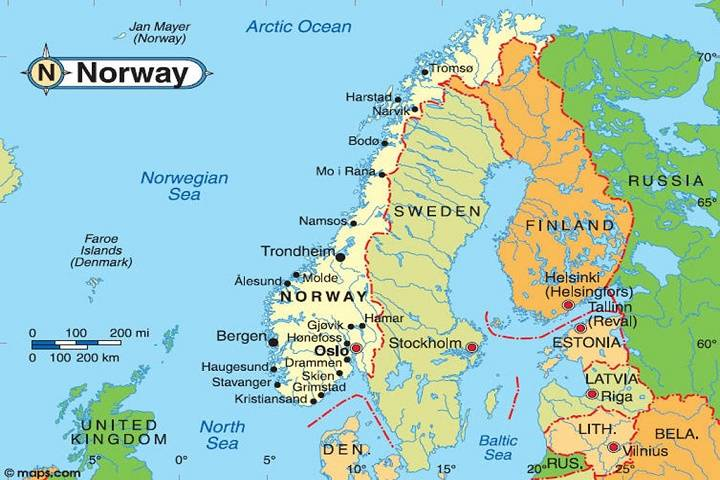 norway will conduct marine spatial