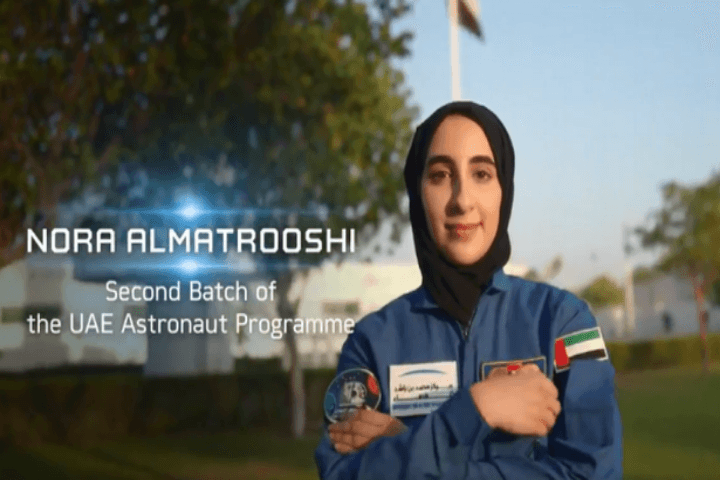 uae named first women astronaut