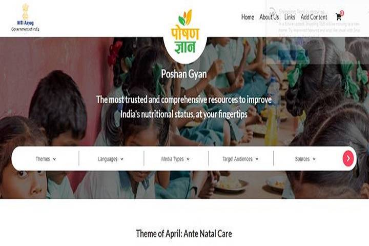 niti aayog launches 'poshan gyan',