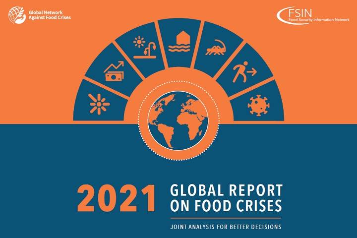 """2021 global report on food crises"""