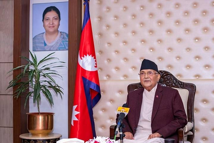 kp sharma oli re-appointed as prime