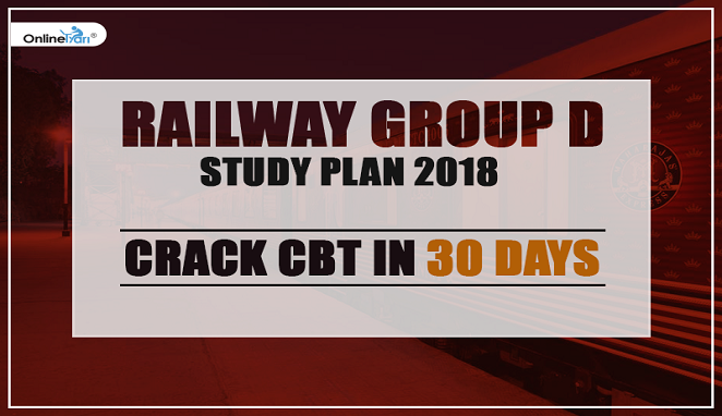 railway group d study plan 2018: