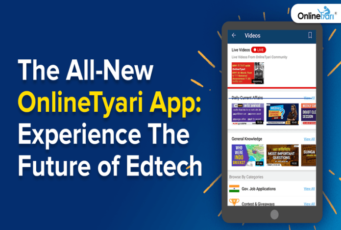 the all-new onlinetyari app: experience