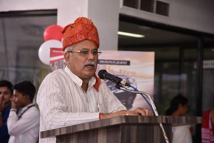 bhupesh baghel to be the cm of