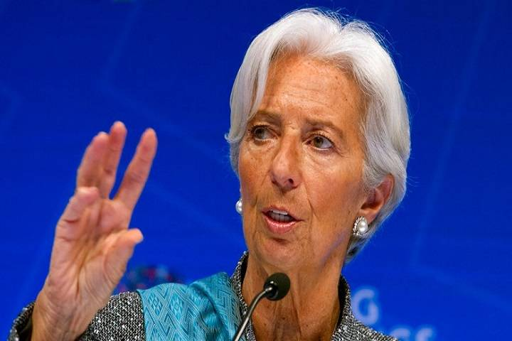 christine lagarde resigns as imf