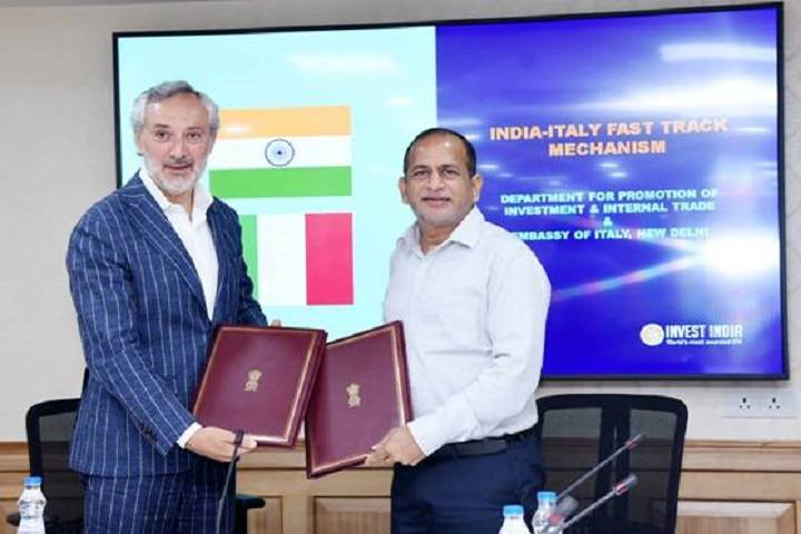 india, italy to set up fast-track