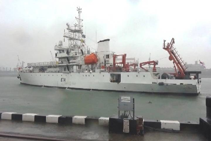 drdo research ship ins sagardhwani