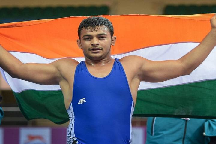 wrestler deepak punia wins gold,