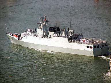 china launches unmanned warship