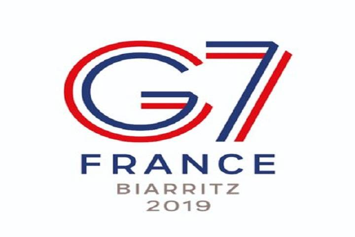 g7 summit 2019 held in france