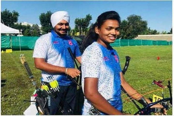 india wins gold at world archery