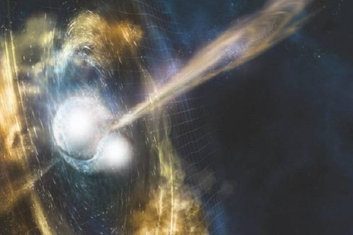 gravitational waves detected for