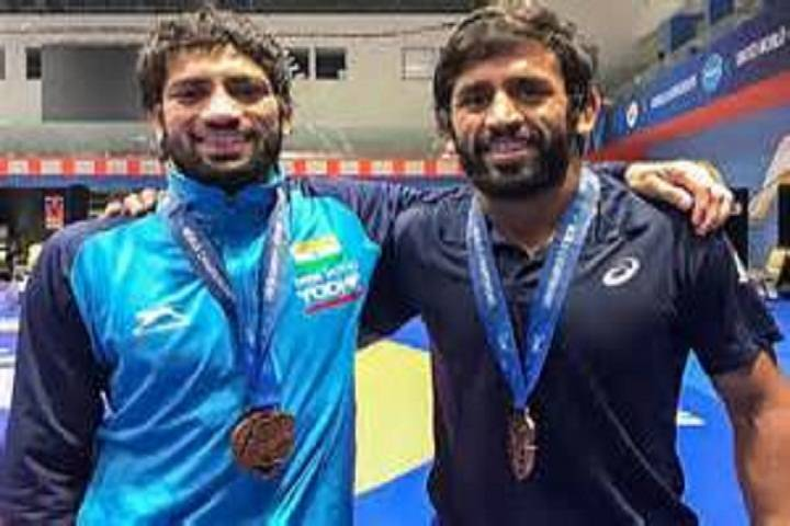 bajrang punia won a bronze medal