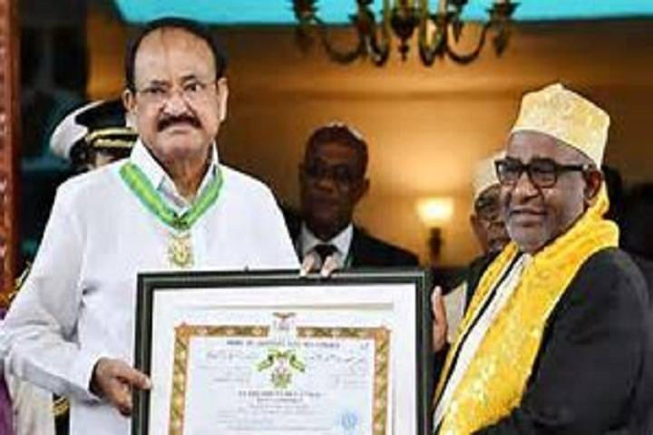 vice president conferred with highest