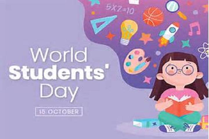 world students day: 15 october