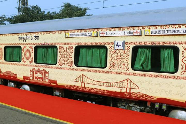 first buddhist circuit train