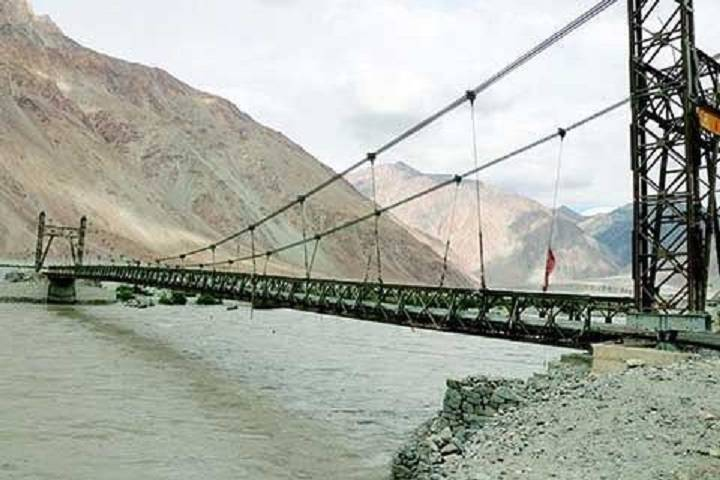 the highest bridge in india inaugurated