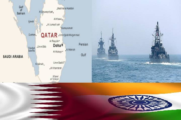 naval exercise between qatar and