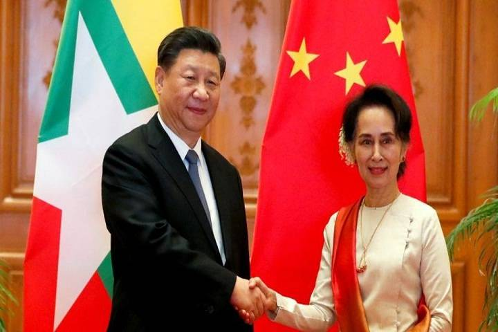 myanmar-china sign 33 deals under