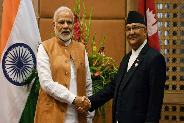 pm of india and pm of nepal has
