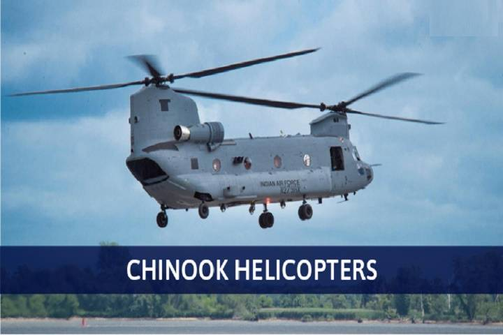 chinook helicopters are operationalised