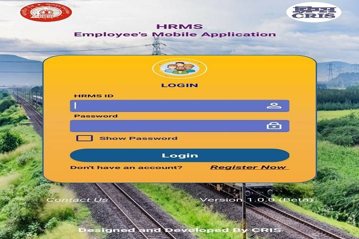 hrms mobile app: indian railway