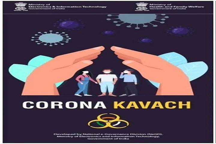 corona kavach app launched by government