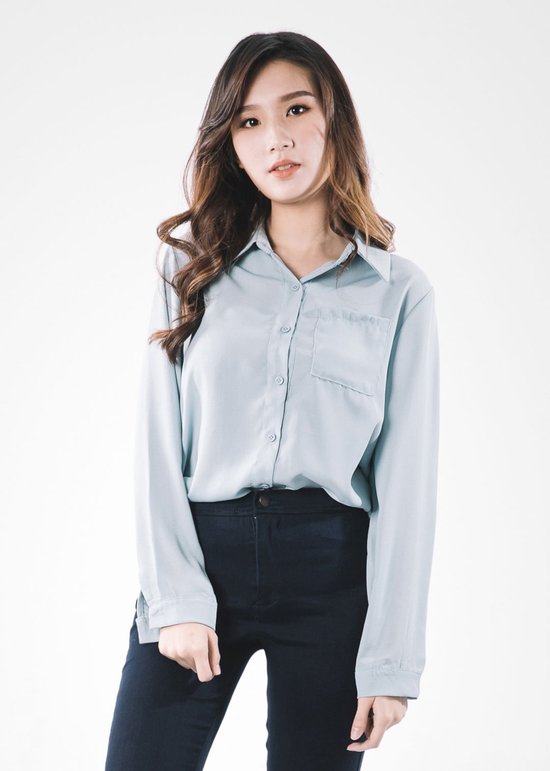 offer discounts cheaper preview of Get Down To Business Blouse In Blue • Dreamscape