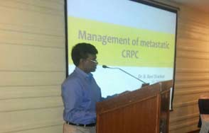 Doctor B Ravi Shankar Consultant Clinical Oncologist Talk on management of MCRPC with Uro club Gallery
