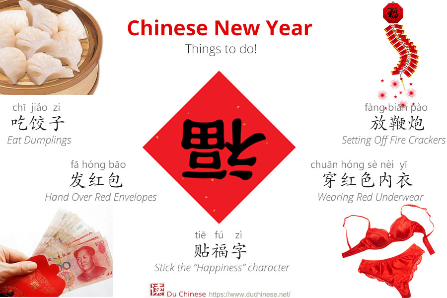 What will you do today in chinese new year