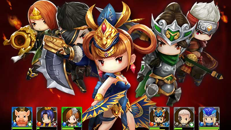 RED: Clash of Heroes, Game Hape yang Dibintangi Kera Sakti ...