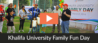 Khalifa University Family Fun Day 2014