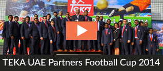 TEKA UAE Partners Football Cup 2104