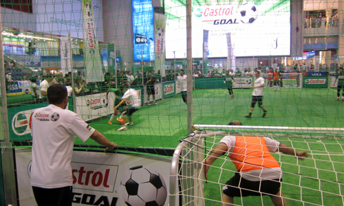Castrol Goal 2012 Football Tournament