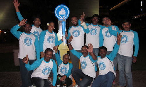 Special Olympics MENA White Flame Relay
